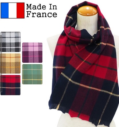 France made scarf