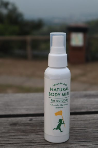 Natural Body Mist Outdoor Skin Care