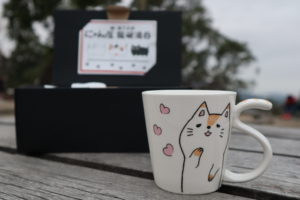 Cat NYANTA Mug For Cat Lover